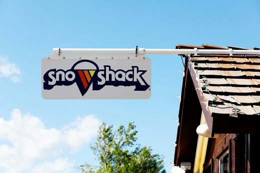 Sno shack picture